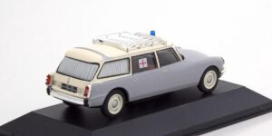 Citroen ID Break Ambulance 1962 (Grijs) (15cm) 1/43 Atlas