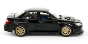 Subaru Impreza WRX STI (Zwart) (22cm) 1/24 Welly