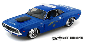 1970 Dodge Challenger RT Coupe Politie