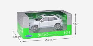 Porsche Macan Turbo (Wit) (22cm) 1/24 Welly