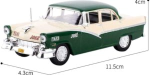 Ford Fairlane - Havana 1955 (Taxi) (Creme/Groen) 1/43 Atlas