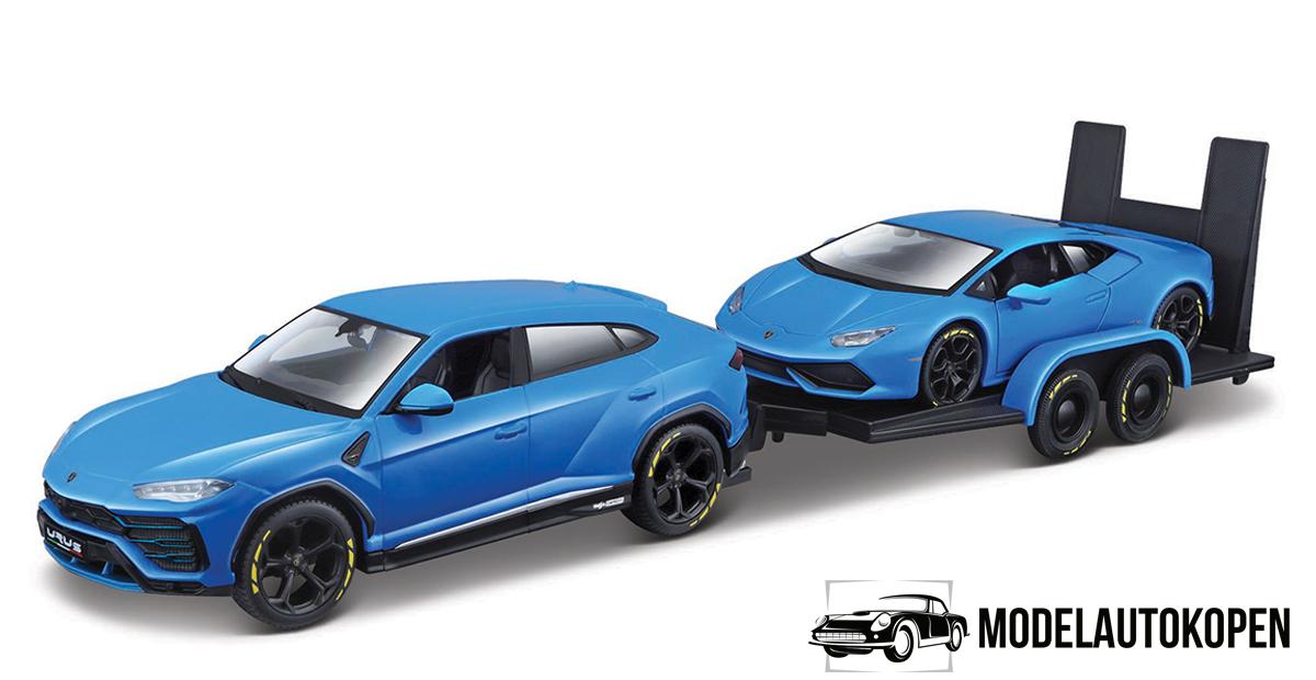 Aanhanger met Lamborghini Huracan