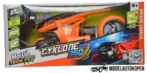 Cyklone 360 Maisto Tech oranje