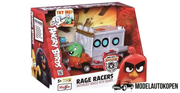 Rage Racers - Angry Birds Maisto (16 cm/met geluid)