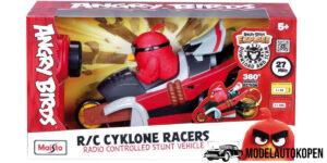 R/C Cyclone Racers stunt voertuig - Angry Birds Maisto (21 cm)