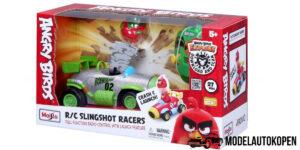 R/C Slingshot Racers lanceer voertuig - Angry Birds Maisto (19 cm)