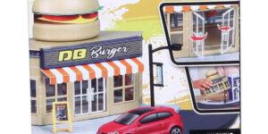 Bburago City Fast Food - Volkswagen Polo Mark 5 1/43 Speelgoed