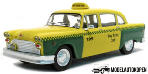 Checker A11/A12 San Francisco 1980 Taxi (Geel) (15cm) 1/43 Atlas