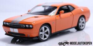 Dodge Challenger SRT 2013 (Oranje/Grijs) (22cm) 1/24 Welly