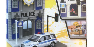 Bburago Streetfire Police Station (Build Your City) (Magazijn Opruiming)