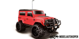 Land Rover Defender Offroad Series - Maisto (rood, 29cm) R/C