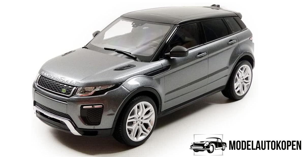 Range Rover Evoque (Grijs Metallic) (30cm) 1/18 Kyosho