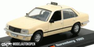 Opel Rekord E Nuremberg 1980 Taxi (Creme) (15cm) 1/43 Atlas