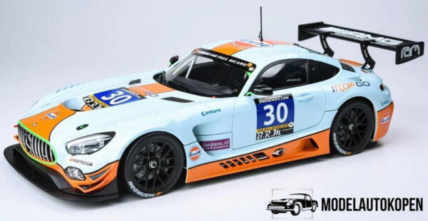 Mercedes-AMG GT3 2016 (Gulf Collection) (35cm) 1/18 Paragon