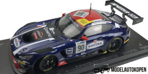 Mercedes-AMG GT3 2017 (Donkerblauw) (35cm) 1/18 Paragon