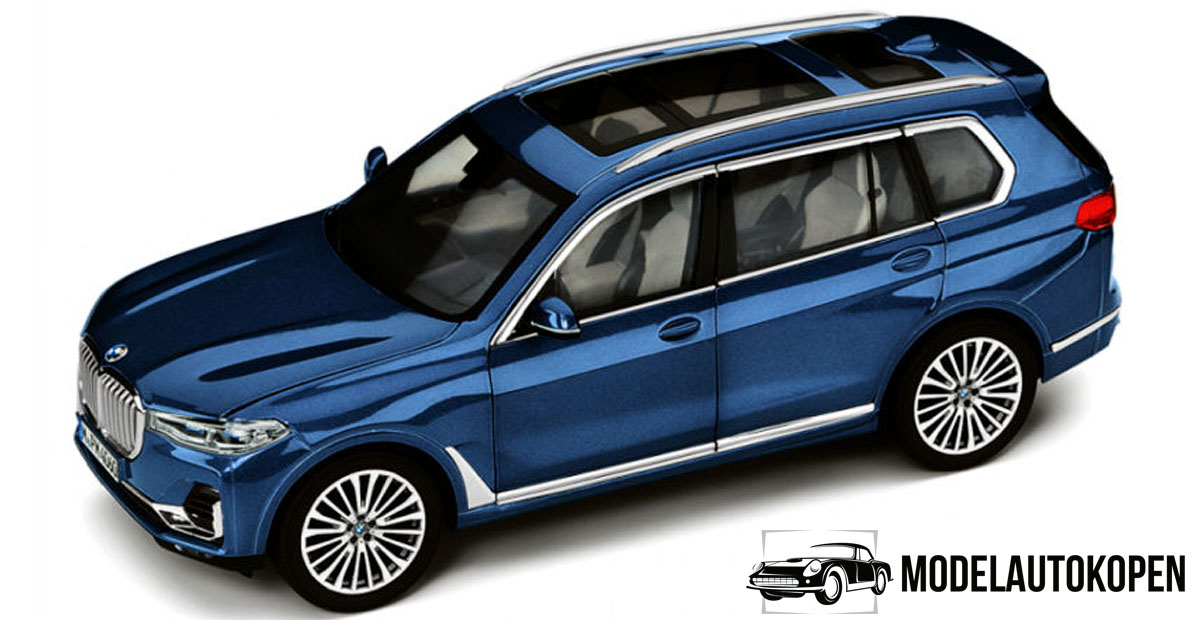 BMW X7 (Phytonic Blue) (Collector's Item) (35cm) 1/18 Kyosho