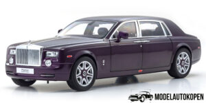 Rolls Royce Phantom EWB (Twilight Purple) (Exclusief Model) (40cm) 1/18 Kyosho