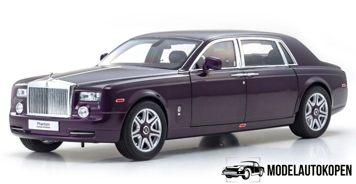 Rolls Royce Phantom EWB (Twilight Purple) (Exclusief Model) (40cm) 1/18 Kyosho