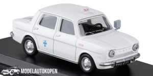 Simca 1000 Marseille 1962 Taxi (Wit) (15cm) 1/43 Atlas