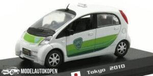 Mitsubishi i-MiEV Tokyo 2010 Taxi (Wit) (15cm) 1/43 Atlas