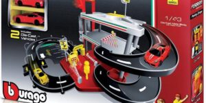 Ferrari Race & Play - Parking Garage (Speelgoed) (Incl. 2 Ferrari Schaalmodellen)