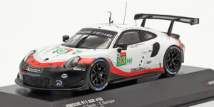 Porsche 911 GT3 RSR #93 Limited Edition Series (Wit) (15cm) 1/43 IXO Models