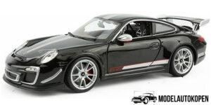 Porsche 911 GT3 RS 4.0 (Zwart) (30cm) 1/18 Bburago