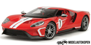 Ford GT #1 2018 Heritage Collection (Rood) (15cm) 1/32 Bburago