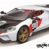 Ford GT #98 2021 Heritage Collection (Wit) (15cm) 1/32 Bburago