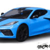 2020 Chevrolet Corvette Stingray Coupe Z51 (Blauw) (15cm) 1/24 Maisto