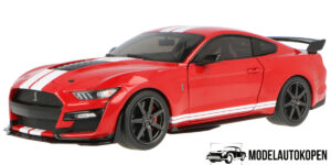 Ford Mustang GT500 (Rood/Zwart) (30cm) 1/18 Solido