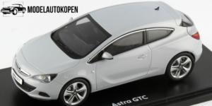Opel Astra GTC Dealermodel (Grijs) (12cm) 1/43 Motor Art