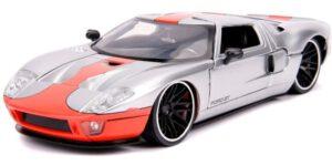 2005 Ford GT (Zilver) (19cm) 1/24 Jada