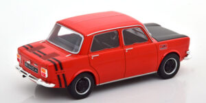 Simca 1000 Rallye 1970 (Rood) (14cm) 1/24 WhiteBox