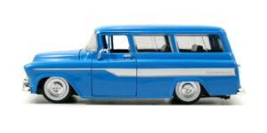 Chevrolet Suburban 1957 (Blauw) (20cm) 1/24 JADA