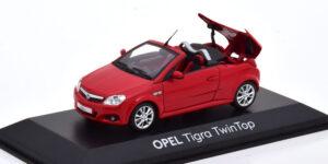 Opel Tigra TwinTop (Rood) (10cm) 1/43 Dealer model