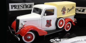 Ford V8 1936 Becks Pickup Truck (wit) (24cm) 1:18 Solido (Opruiming)