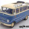 Mercedes-Benz O319 Bus 1960 (Blauw/Wit) (27cm) 1/18 Norev