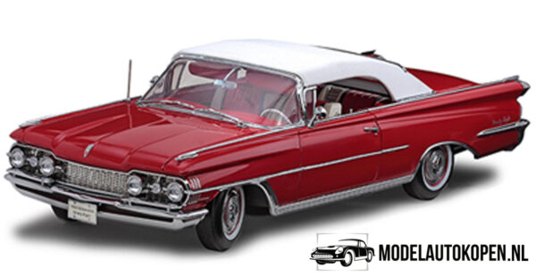 "1959 Oldsmobile ""98"" Convertible - The Platinum Collection (Rood) (30cm) 1/18 Sun Star"