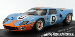 Ford GT40 #9 Winner LM 1968 (Gulf) (10cm) 1/43 IXO Models
