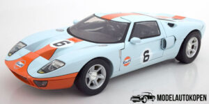 Ford GT Concept Gulf #6 (Lichtblauw) (40cm) 1/12 Motor Max