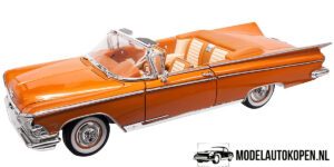 1959 Buick Electra 225 (Oranje) (30cm) 1/18 Road Signature Collection