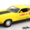 1973 Ford Mustang Eleanor (Gone In 60 Seconds) (Geel) (30cm) 1/18 Greenlight