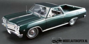 1965 Chevrolet El Camino (Collectors Item) (Groen) (30cm) 1/18 ACME