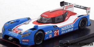 Nissan GT-R LM Nismo #21 (Blauw) (13cm) 1/43 Premium Die-Cast