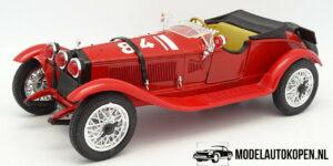 Alfa Romeo Alfetta 1750 Millemiglia (Rood) (25cm) 1/16 Tonka Polistil