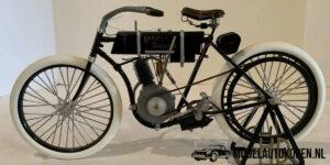 Harley Davidson Serial Number One 1903-1904 (Zeldzaam Exemplaar) (Schaal 1/6)
