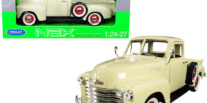 1953 Chevrolet 3100 Pick Up (Crème) (30cm) 1/18 Welly