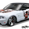 2011 Ford Mustang GT (Wit) (19cm) 1/24 Maisto
