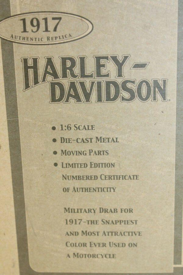 Harley Davidson 3 Speed V Twin Model F 1917 (Zeldzaam Exemplaar) (Schaal 1/6)